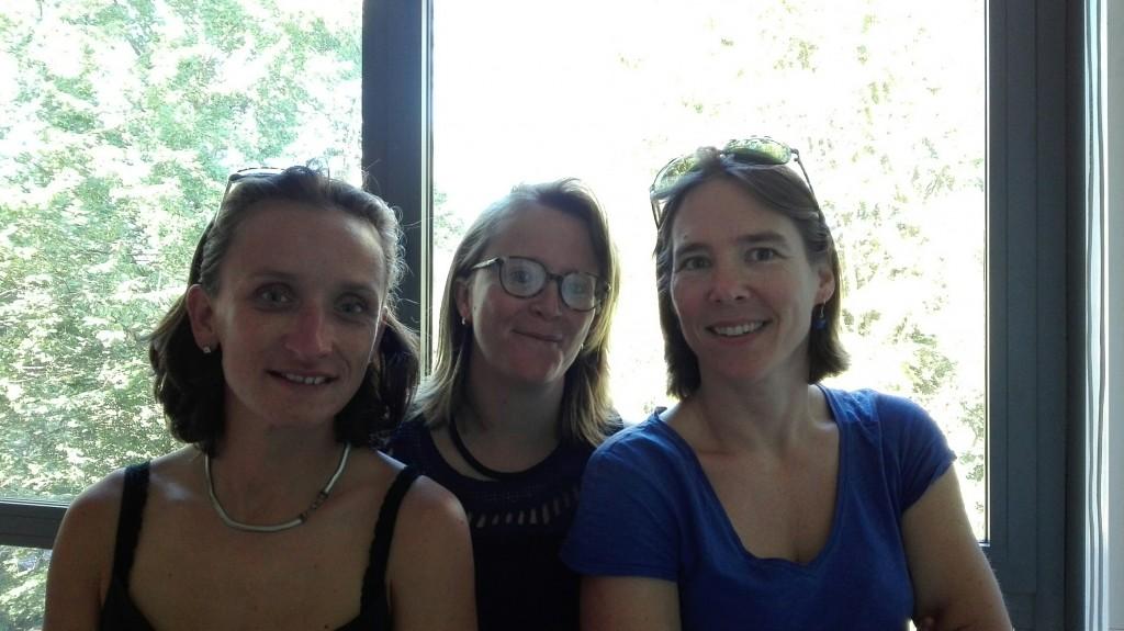 Marie, Véronique et Fabienne